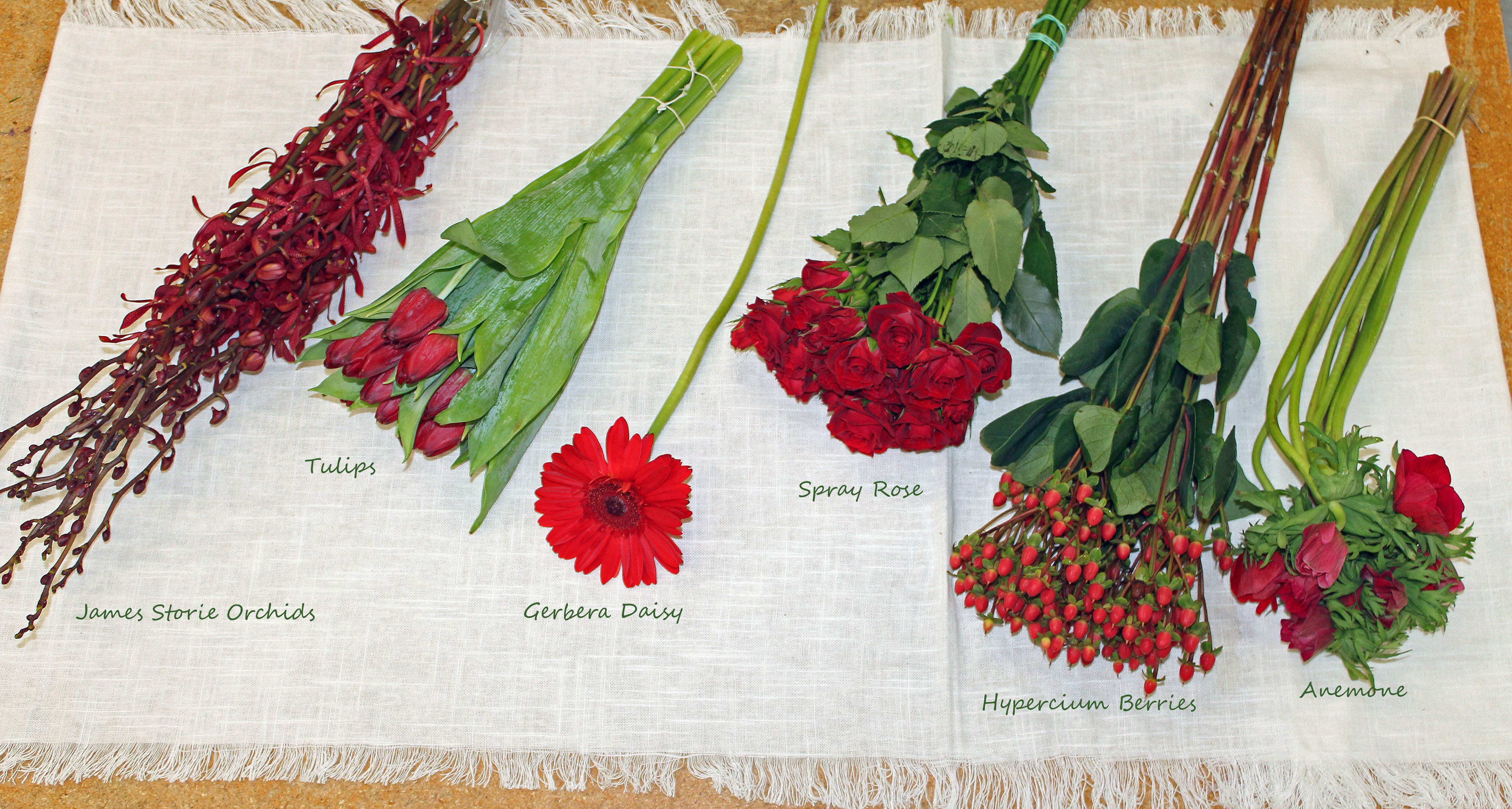 Types Of Red Flowers For Weddings Viewing Gallery