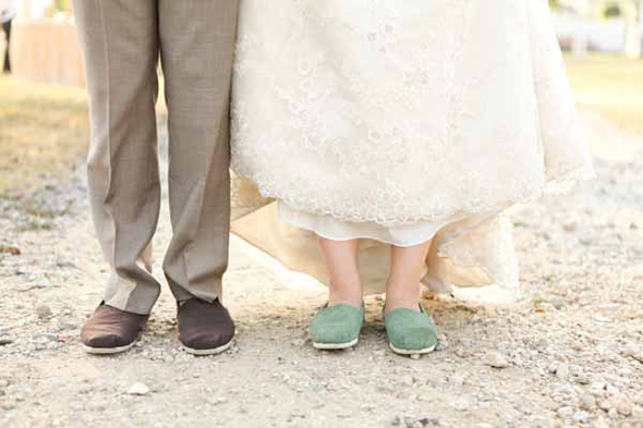 Shoe Tuesday | TOMS Wedding Shoes