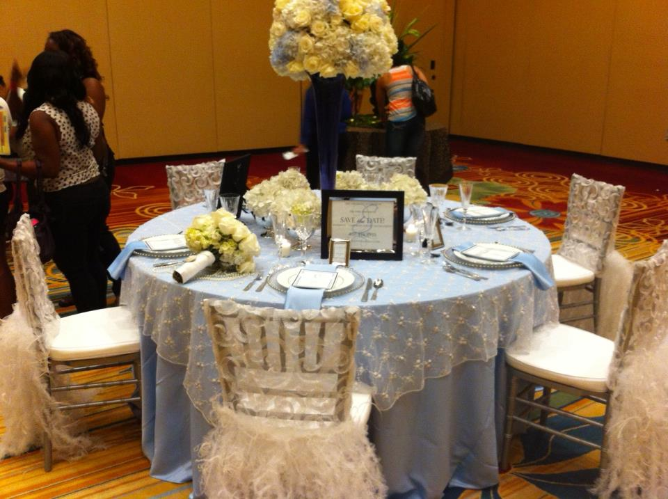 Save the Date Wildflower Linen Chair Covers A Chair Affair Blog