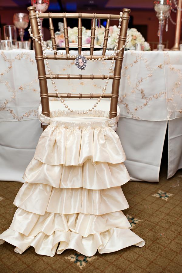 bridal chair accessories a chair affair orlando wedding rentals