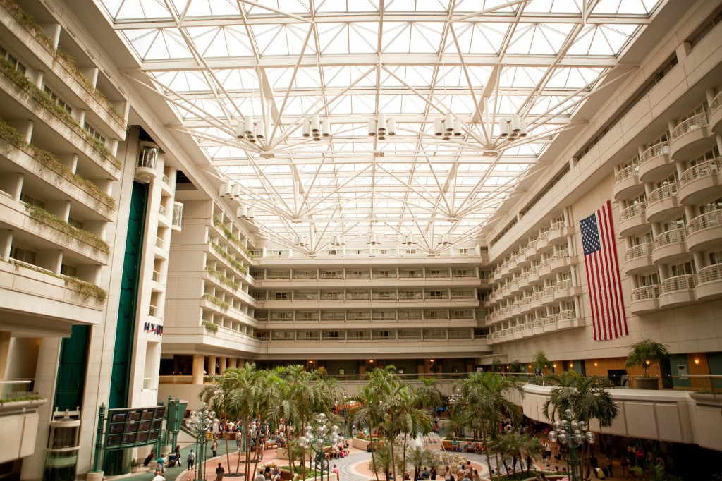 Come Fly With Me Married At Hyatt Regency Orlando Airport