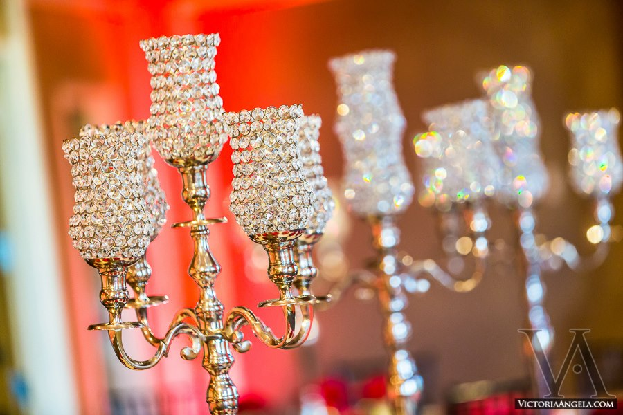 Crystal Candelabras Orlando Wedding Rentals Centerpieces A Chair Affair