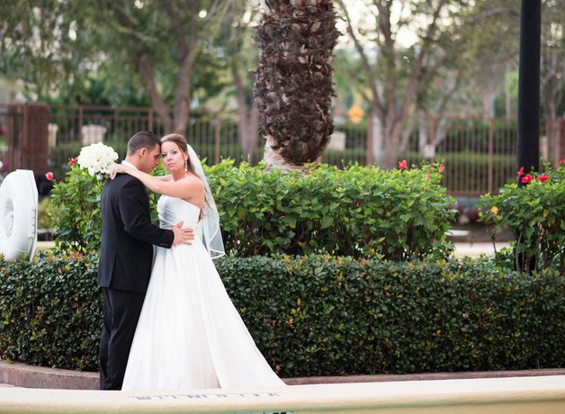 Rosen Centre Hotel: Cassie and Fernando