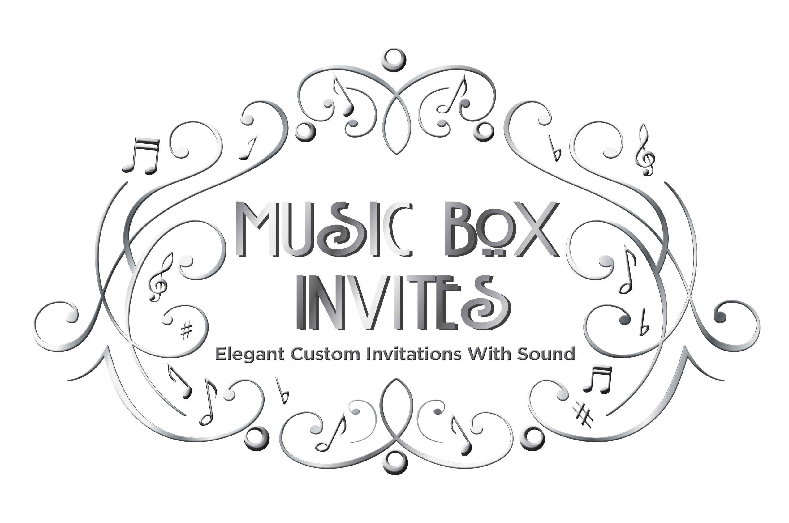 Music Box Invites - A Chair Affair, Inc.
