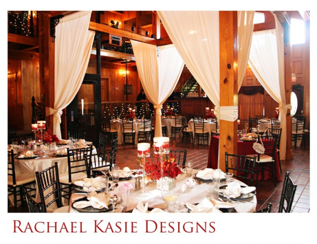 Tavern And Chapel In The Garden Red Wedding Leslie Amp Kenar