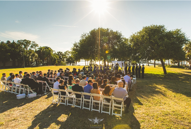Wedding Ceremonies Florida Cocoa Beach Country Club Uniquely Yours A Chair Affair