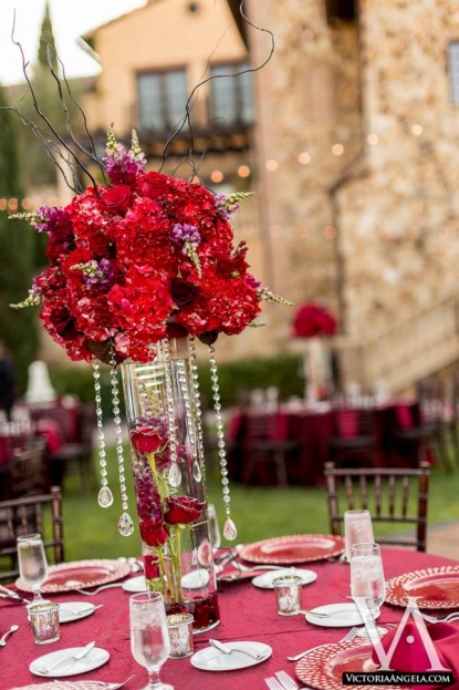 Bella collina ray and clare a chair affair inc for Angela florist decoration