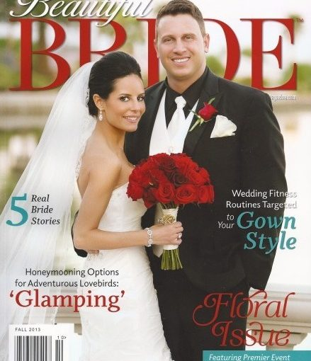 Jennifer and Alex Featured in Beautiful Bride Fall 2013