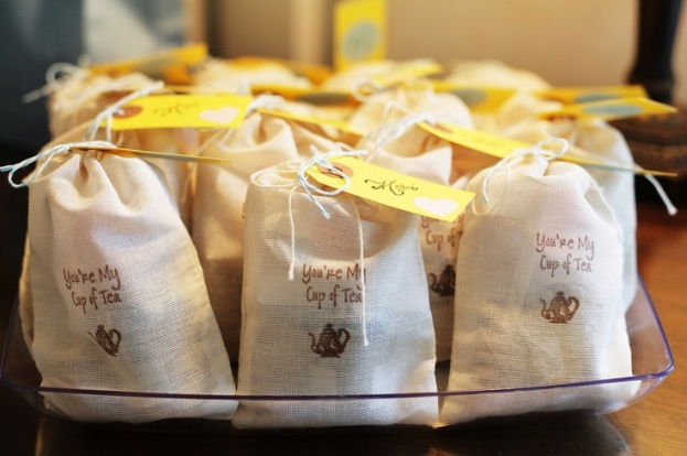 A Chair Affair Tea Bags Wedding Favors