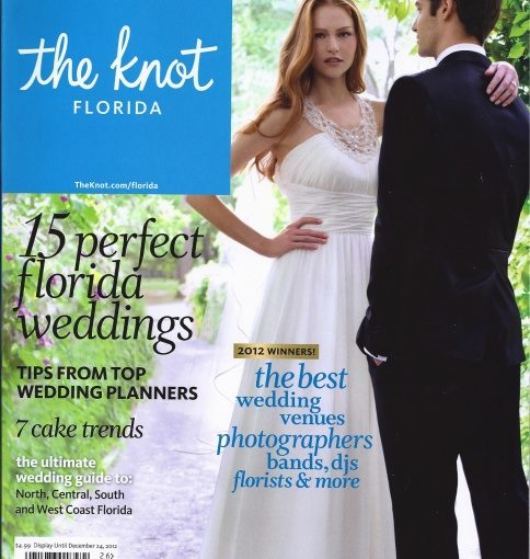 Media Feature: The Knot: A Waldorf Astoria Orlando Wedding