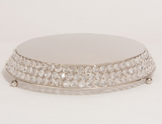 A Chair Affair Als Round Bling Cake Stand