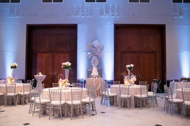 Amalie Orrange Photography_Orlando Museum of Art_A Chair Affair_reception room wide shot