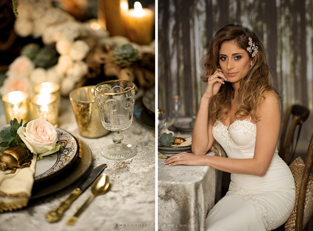 Midsummer Night's Dream Styled Wedding Shoot