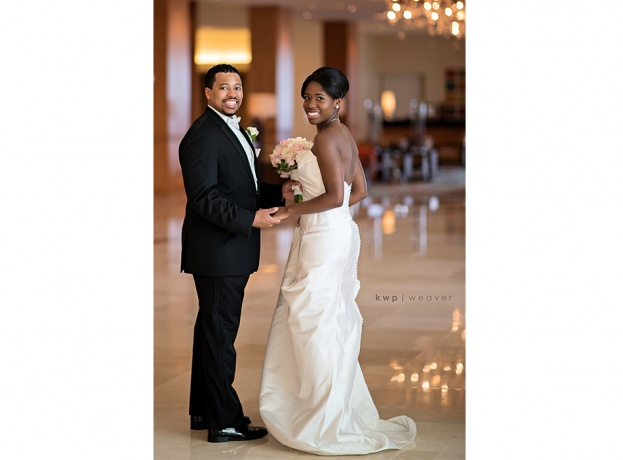 Hilton Orlando Pink and Gold Wedding: Liz and Jamol