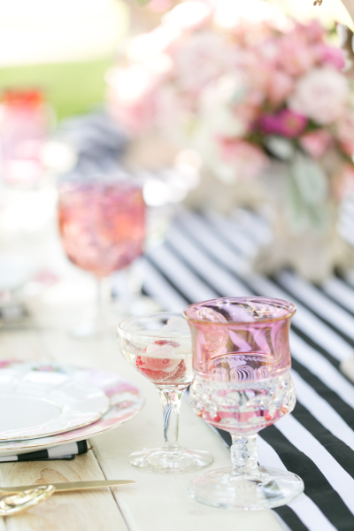 Amalie Orrange, Table 6 Productions, A Chair Affair, Orlando Chair Rentals, vintage glassware