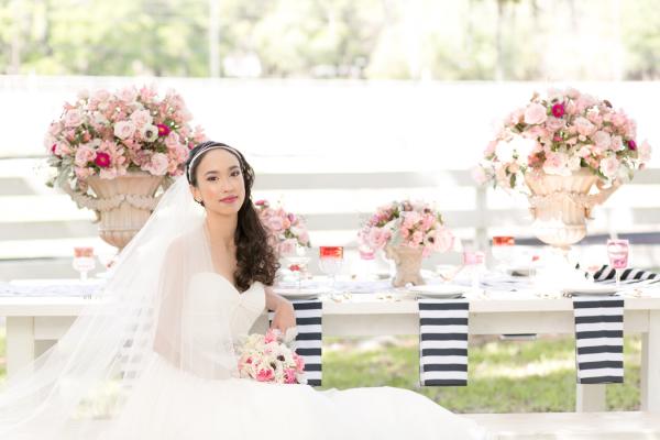 Media Monday: Raspberry and Striped Wedding Inspiration