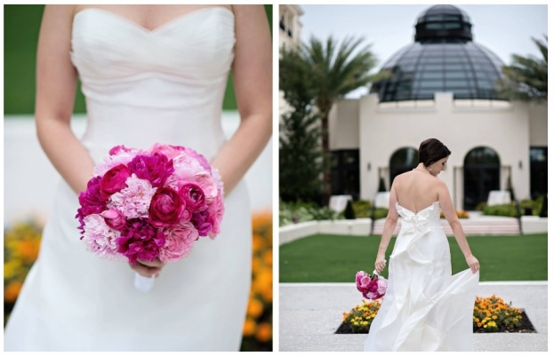 Interlachen country club winter park bethany and brian for Wedding dress rentals orlando fl