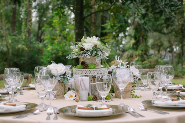 Florida Federation of Garden Clubs: Woodland Rustic Photo Shoot