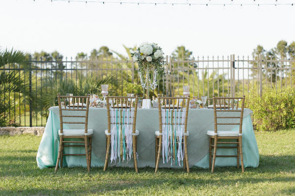 Mint Wedding Decoration Ideas