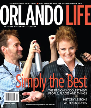 Orlando Life Magazine A Greenery Productions Wedding