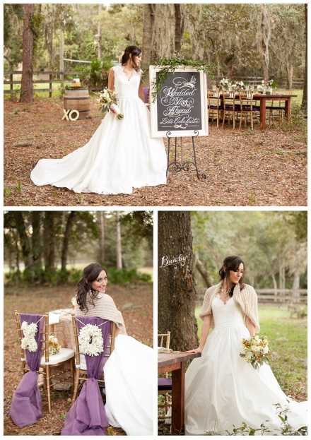 Bumby Photography-A Chair Affair-Bride Wedding Dress-Rustic Glam Wedding Photo Shoot-Orlando Weddings