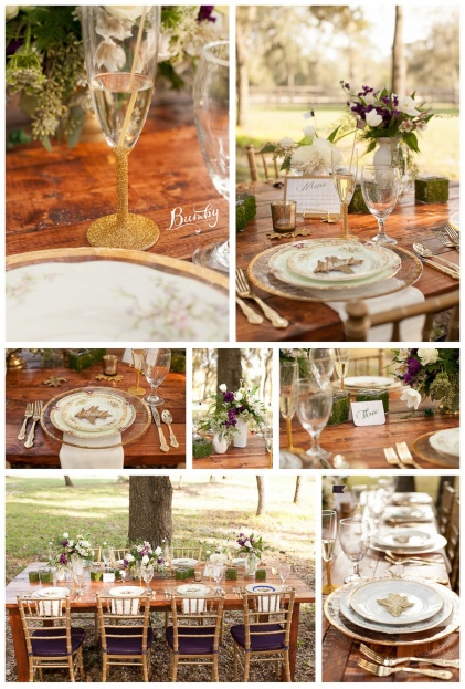 Bumby Photography-A Chair Affair-Farm Tables-Rustic Glam Wedding Photo Shoot-Orlando Weddings