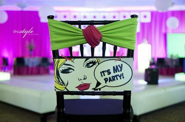 Ocoee Lakeshore Center: Sweet 16 Pop-Art Photo Shoot