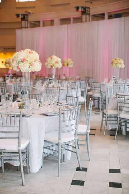 KT Crabb Photography A Chair Affair Reception Decor With Silver Chiavari Chairs Orlando