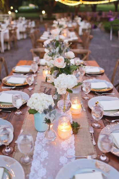 French Country Chairs-White Charges-Farm Table-The Lange Farm- Lindsey and Bret Wedding-Andi Mans Photograph-A Chair Affair event rentals