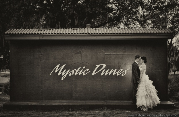 Mystic Dunes Resort & Golf Club: Erin and Daniel