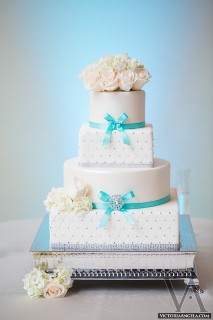 Cake, Maria and Eddy, Hilton Bonnet Creek, Victoria Angela Photography, A Chair Affair event rentals