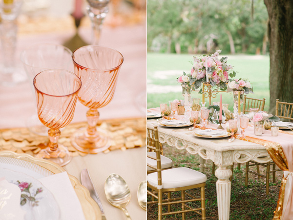 Media Monday: Blush and Gold Styled Wedding Shoot on Ruffled
