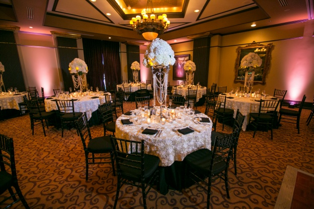 Black and white wedding, The Grand Bohemian Hotel, Castaldo Studios, Swanky I Do's, A Chair Affair Event Rentals, black and white chiavari chairs