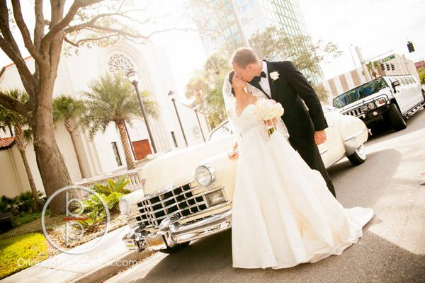 Fairytale wedding, Buena Vista Palace, white wedding, All About the Details, Perfect Sky Production, OrlandoWeddingPix, Brian Pepper, A Chair Affair Event Rentals, cadillac