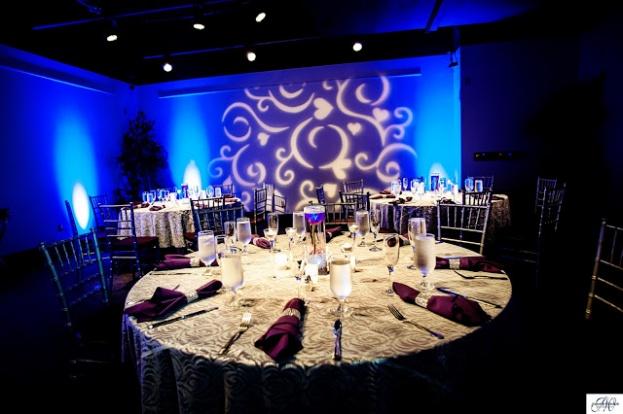 Purple wedding, Orange County Regional History Center, The Chapel at the Towers, Jennifer Werneth Photography, A Chair Affair Event Rentals, chiavari chairs