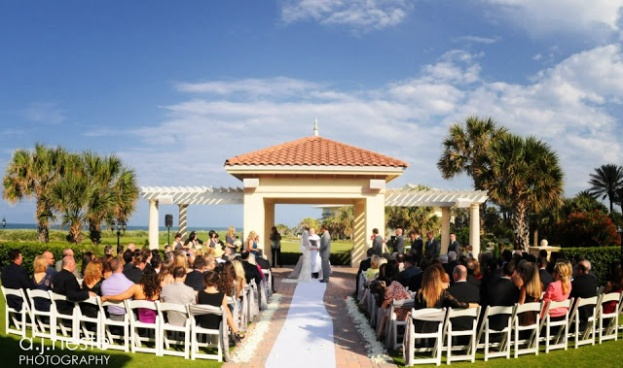 White Lawn Chairs Orlando Weddings Hammock Beach Resort A J Neste Photography