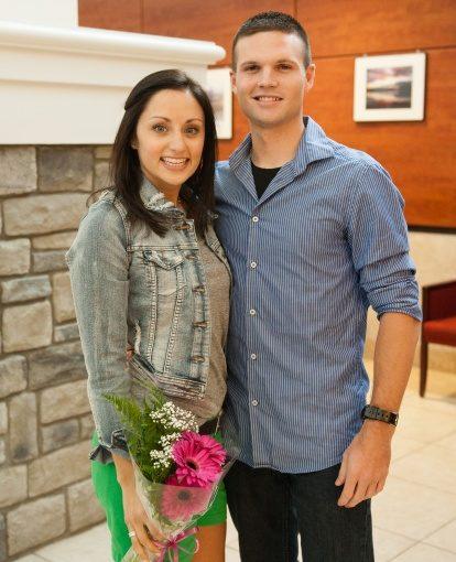 November Winners: Cassie and Ryan