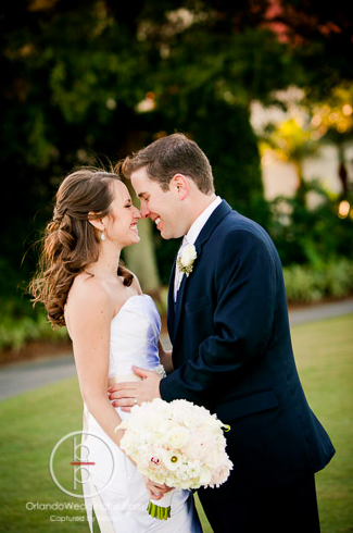 Bride Groom Kiss, Orlando weddings, Interlachen Country Club, Orlando Wedding Pix, A Chair Affair rentals