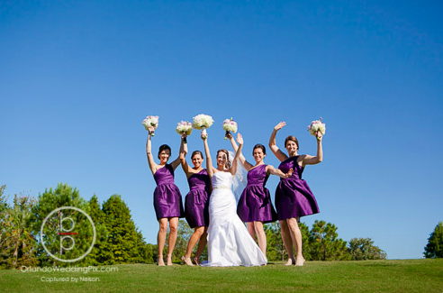 Bridesmaids Ideas, Orlando weddings, Interlachen Country Club, Orlando Wedding Pix, A Chair Affair rentals