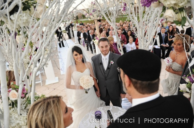 Silver Wedding, Ceremony, Orlando Weddings, Waldorf Orlando, Damon Tucci Photography, A Chair Affair Event Rentals