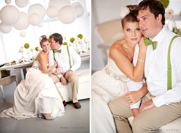 couple, Green wedding, Orlando weddings, Heaven Event Center, Kristen Weaver Photography, A Chair Affair event rentals
