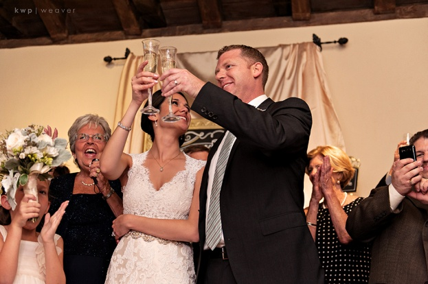 wedding cheers, Casa Feliz, Walker Wedding, A Chair Affair Event Rentals
