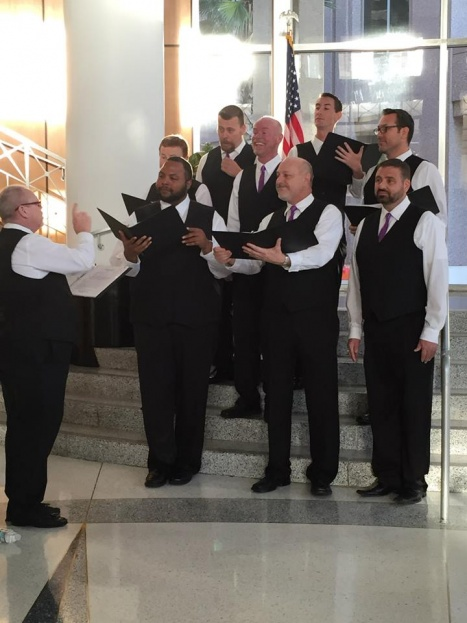 Chorus, Marriage Equality, City Hall, A Chair Affair Event Rentals