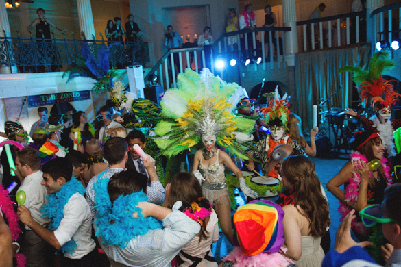 Columbian Dance Party, Andi Mans Photography, Casa Monica and Lightner Museum, A Chair Affair Event Rentals, Orlando Chair Rentals