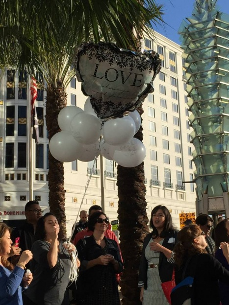 Love Balloon, Marriage Equality, City Hall, A Chair Affair Event Rentals