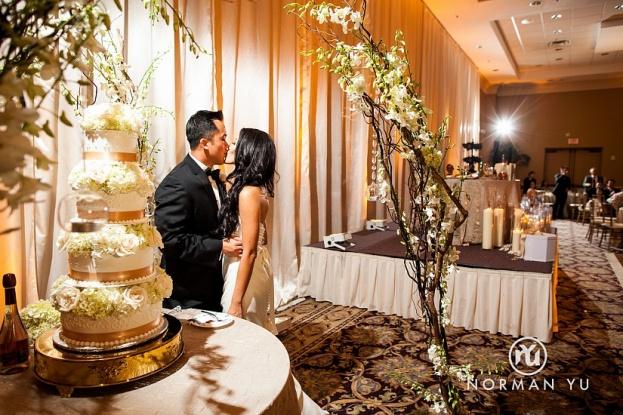 Wedding Kiss Ideas Norman Yu Photography JW Marriott A Chair Affair Orlando