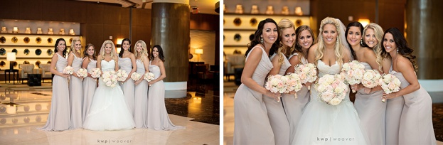 Bridal Party Photo Ideas, Kristen Weaver Photography, Hyatt Regency, A Chair Affair Wedding Rentals