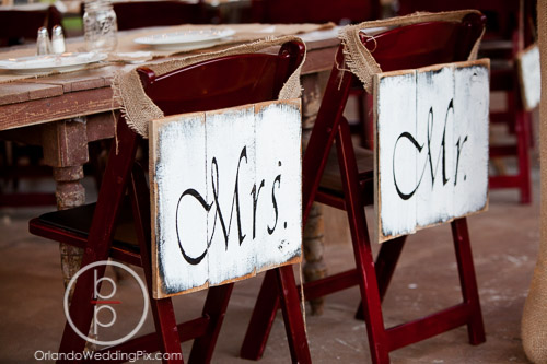 Mahogany Resin Folding Chairs 1 Brian Pepper Photography, Isola Farms, A Chair Affair Wedding Rentals