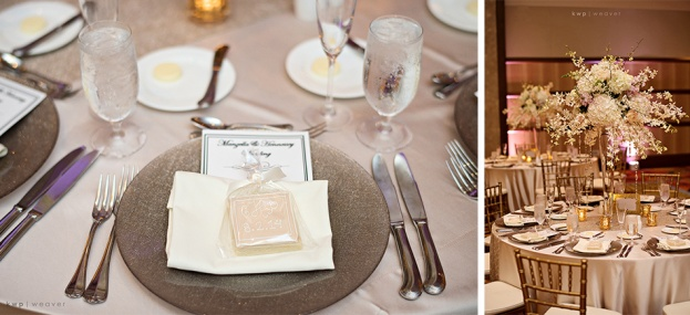 Wedding Chargers, Kristen Weaver Photography, Hyatt Regency, A Chair Affair Wedding Rentals