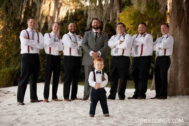 Groomsmen Photo Ideas, Paradise Cove, S&S Photography, A Chair Affair Event Rentals, Orlando chiavari chair rentals, Orlando wedding.jpg
